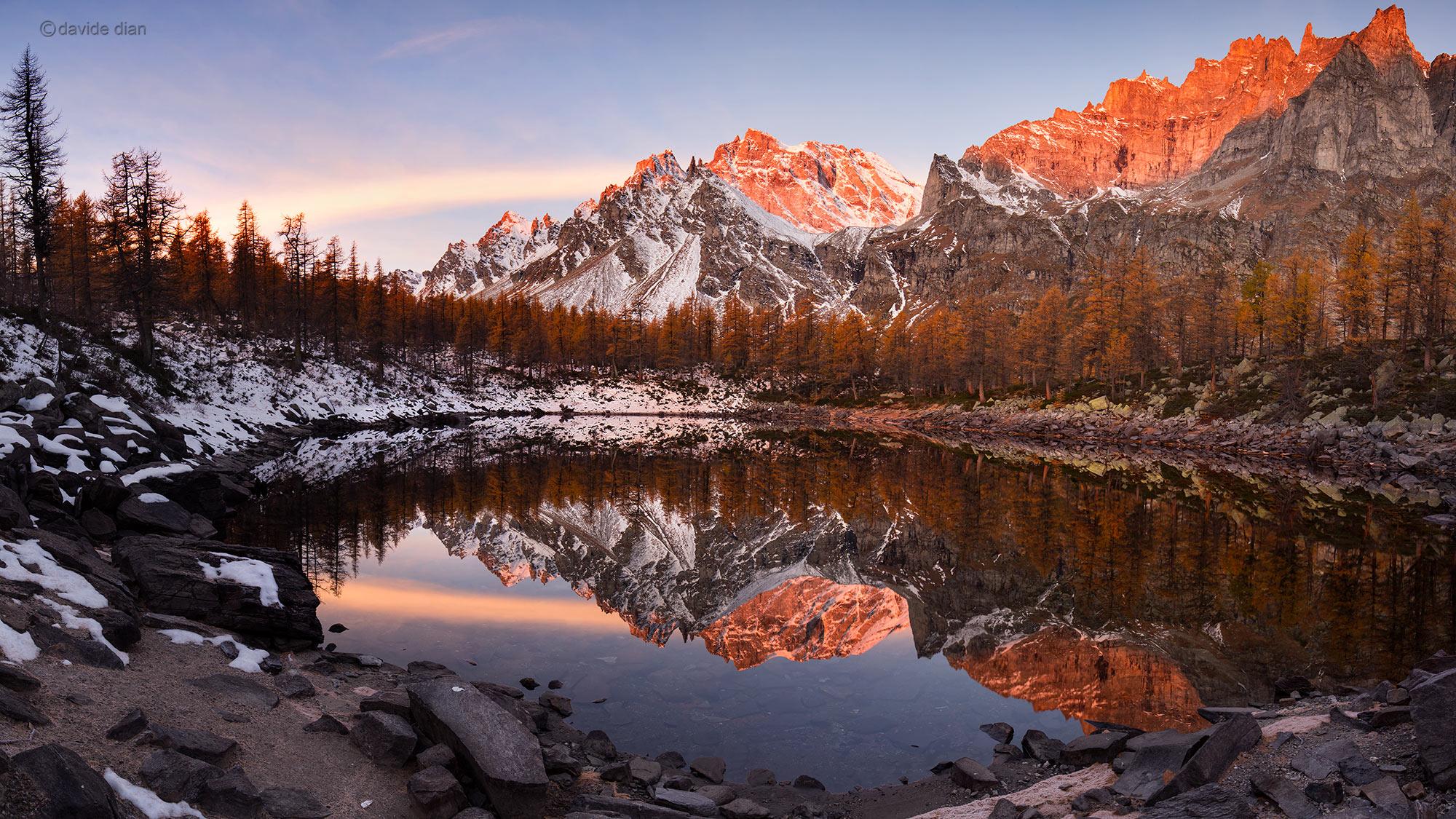 Dietro lo scatto: lago Nero all'Alpe Devero