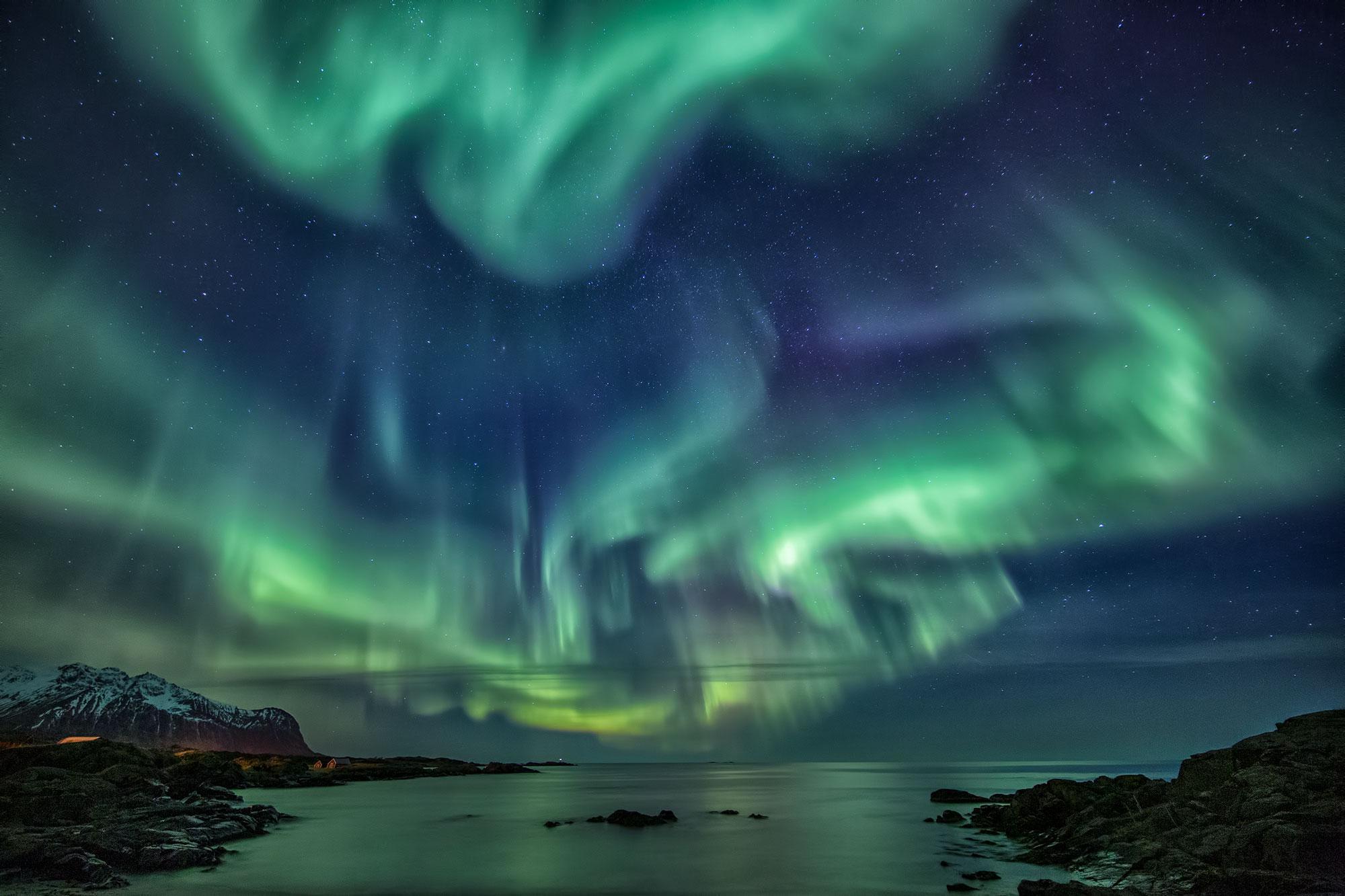 Dietro lo scatto: northern lights alle isole Lofoten