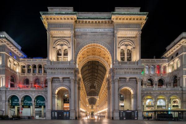 Fotografia notturna a Milano